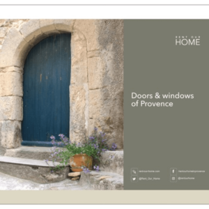 Calendar Doors & Windows Rent-Our-Home Lourmarin Provence